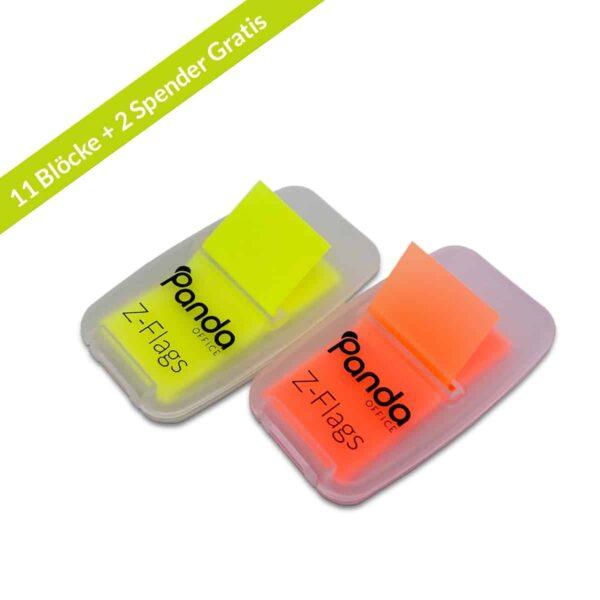 Z-Flags Indexstreifen 10er Set Duo Gelb Orange