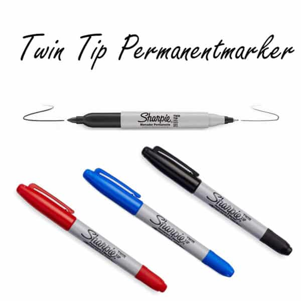Twin Tip Permanent Marker