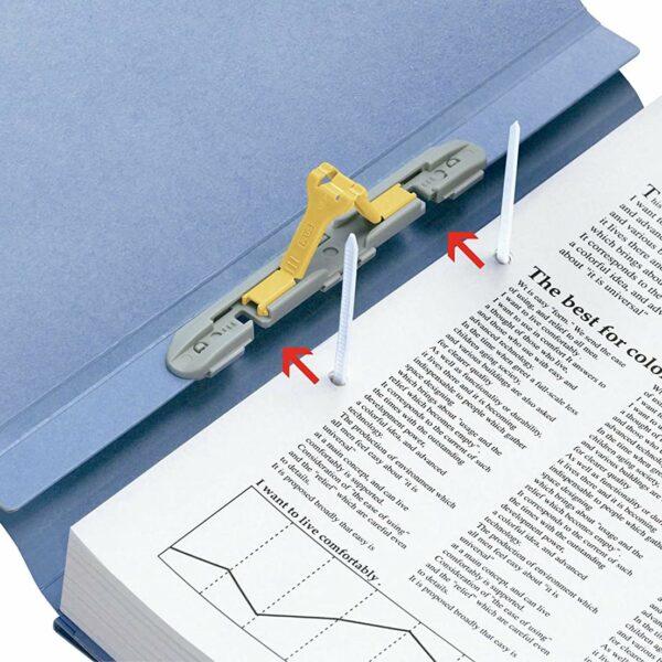 FL-1200 Flex Folder - Flexible Ablagemappe 1-10 cm bis zu 800 Blatt innovativer Klipp