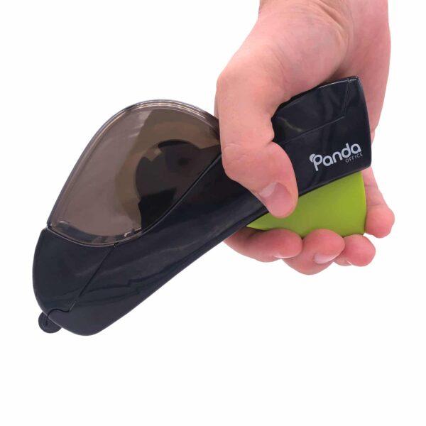 Quick Tape Pro - Ein-Hand Klebebandspender - in der Hand