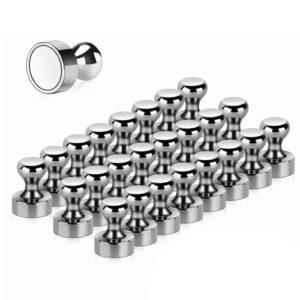 Office Magnete Stark Heavy Silver Verzinkt