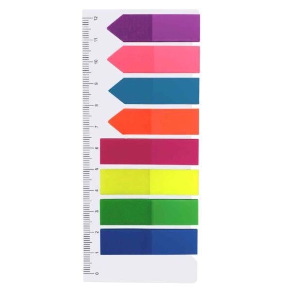 Index Sticks - Haftstreifen - 8 x 25 Blätter - Bunte Streifen & Pfeile