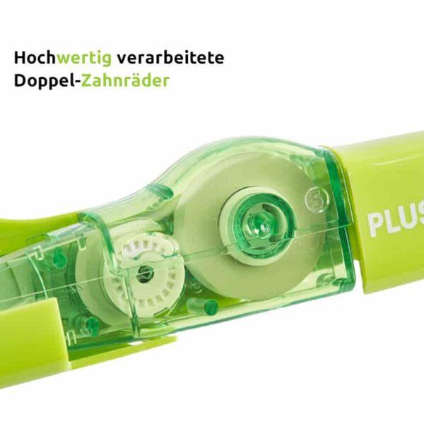 Korrekturmaus Whiper MR grün 4,2 mm hochwertig verarbeitete Doppel-Zahnräder